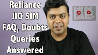 Hindi | Reliance Free JIO SIM FAQ, Doubts, All Queries Answered | Gadgets To Use