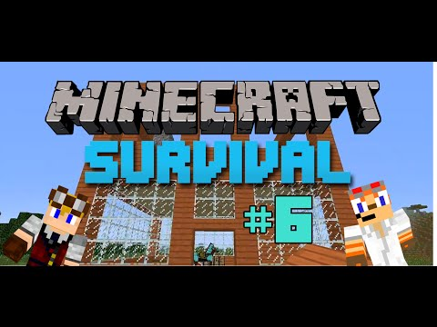 Minecraft Survival Bölüm-6   KORKUNÇLU ULAŞ !