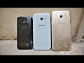 Samsung Galaxy A7 vs A3 vs A5 2017 - Drop Test! (4K)