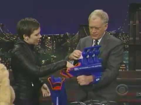 Fun toys with David Letterman