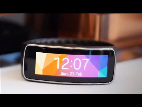 Samsung Unveils the Gear Fit | Mobile  World Congress 2014