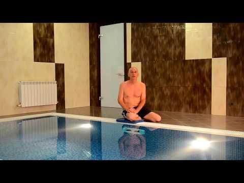Уроки плавания кролем - видео