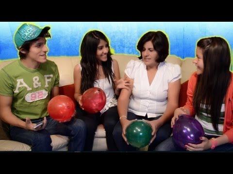 Retos: Reto del día de las madres   Reto rompiendo globos con el cuerpo   Reto Polinesio   Retos