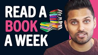 How I Read A Book A Day | Weekly Wisdom Episode 2 by Jay Shetty