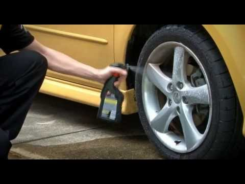 Wheel and Tyre Cleaning