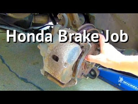 How to Replace Brake Pads on a 1998 - 2002 Honda Accord