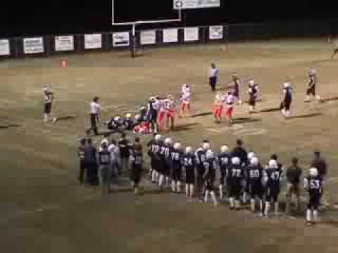 Caleb Ellison Football Highlights 2011- Mountain Pine High School