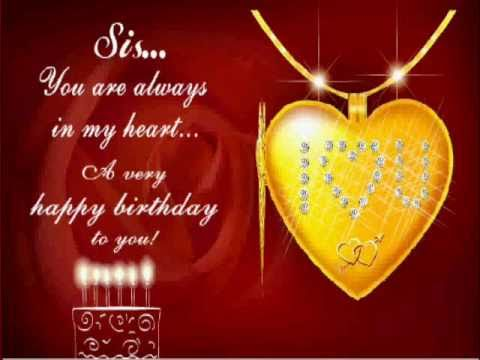 Birthday Wishes 4 Sister video