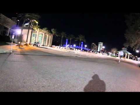 Sigma 10mm f2.8 night skate test