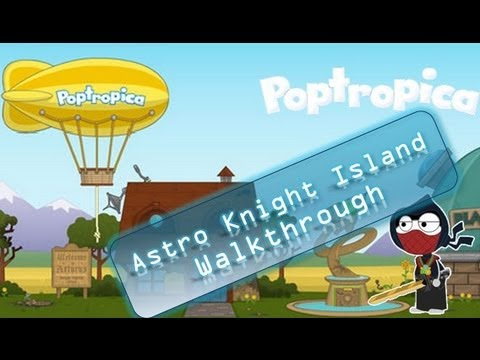 Poptropica Cheats for Astro Knights – Full Walkthrough