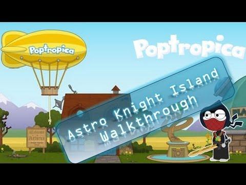 Poptropica Cheats for Astro Knights – Full Walkthrough