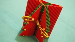 Новогодние поделки- Как сделать новогоднюю открытку своими руками