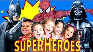 Superheroes Teach Kids