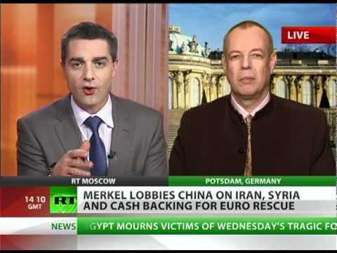 'No chance Merkel talks China out of buying Iranian oil'