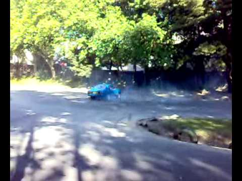 Ford Capri mk1 Burnout