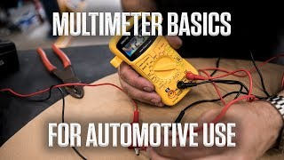 DIY | Multimeter basics for automotive use