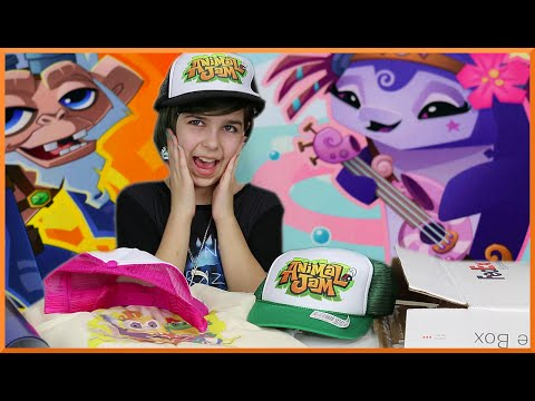 Animal Jam Swag Surprise Package Opening Shirts Hats and More