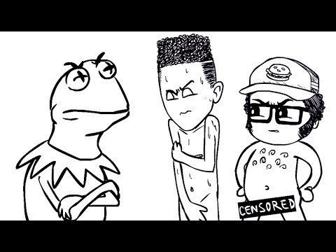 Kermit The Frog and Resting Bitchface - SourceFed Animated!