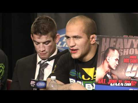 UFC 131: JDS Says Carwin Hardest Puncher Ever