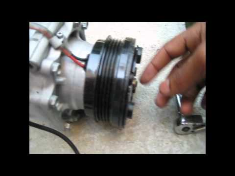 AC compressor and drier replace 1999 honda civic