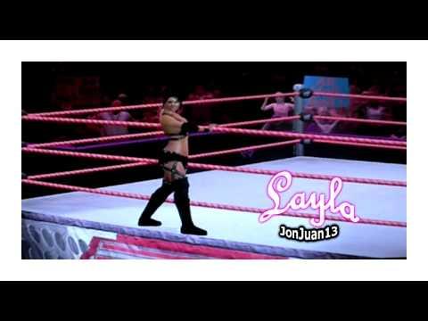Layla Caw Smackdown vs Raw 2010 (Xbox 360)