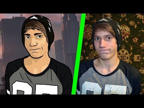 Портрет в стиле GTA V в Photoshop