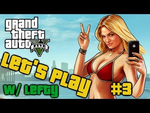 Pornstar Shootout Grand Theft Auto 5 Let's Play Part Three (gta V Walkthrough) video