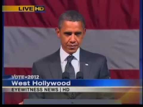 WATCH OBAMA S FACE FREEZE -  ANTICHRIST SPIRIT  CONFRONTED!