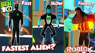 *Insane* FASTEST Alien In BEN 10? (Ben 10 Arrival Of Aliens)