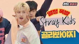 Download Song [골라봐야지][HD/ENG] 갓 한 살 된 '스트레이 키즈(Stray Kids)'의 열정 폭발 모음ZIP♥ #아이돌룸_JTBC봐야지 Free StafaMp3