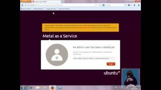 Ubuntu Cloud Installing MAAS