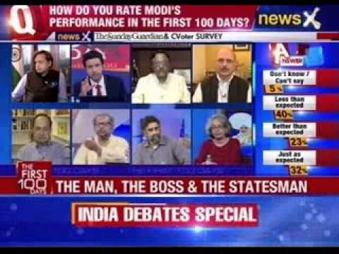 India Debates: Verdict on Modi, the first 100 days