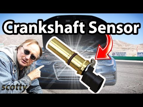 Replacing A Crankshaft Position Sensor Code P0335