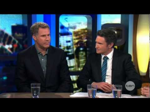 Will Ferrell interview on The Project (2012) - The Campaign (plus PM Julia Gillard)