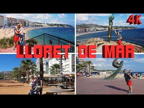 LLORET DE MAR, SPAIN 4K 2018