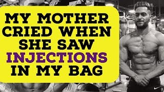 My mother saw INJECTIONS | She Cried