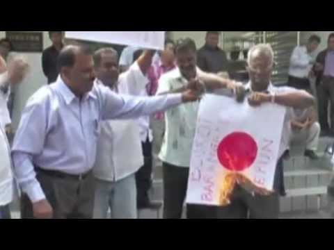 #Malaysia : Tak bakar bendera Jepun? Ni apa jadah ni?