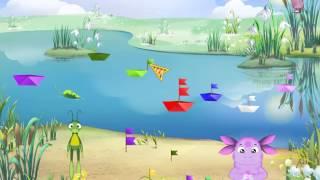 Обучающийй мультфильм для детей Лунтик: Мачты. Развивающий мультфильм для детей.