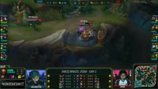 Kaos Latin Gamers  vs Dark Passage  l 2016 IWCQ 1.Gün l KMV vs DP