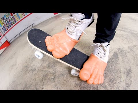 The Worst Skate Shoes Ever! (You Must Skate Them!)