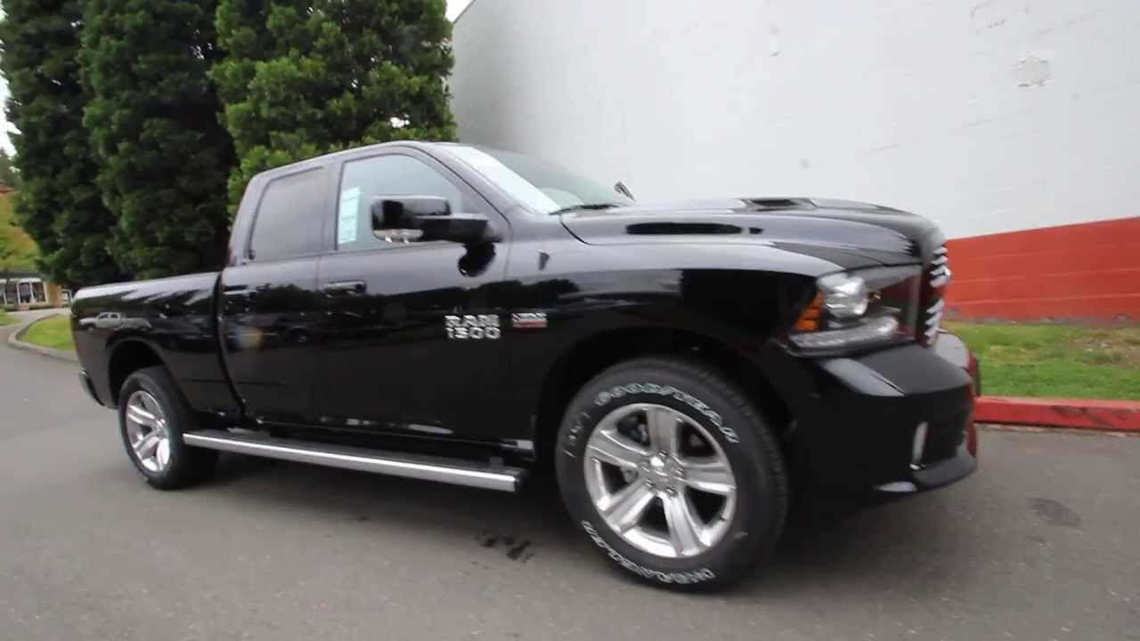Dodge ram 1500 2014 black