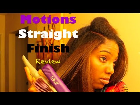 Motions Straight Finish Review for Naturally Curly Hair