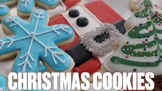 HOW TO MAKE ROYAL ICING CHRISTMAS COOKIES LIKE A PRO | HOLIDAY SUGAR COOKIE DECORATING TIPS