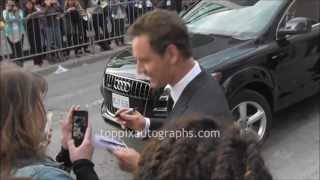 Michael Fassbender - Signing Autographs at the Toronto International Film Festival