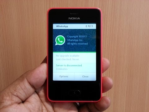 WhatsApp for Nokia Series 40