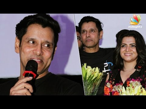 Chiyaan Vikram Speech at flood relief anthem 'Spirit of Chennai' song | Divyadarshini