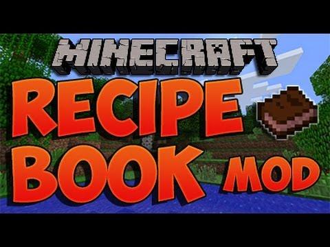 Minecraft - RECIPE BOOK MOD