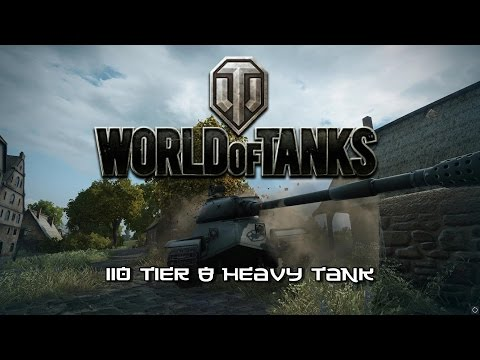 World of Tanks -  110 Tier 8 Chinese Heavy Tank