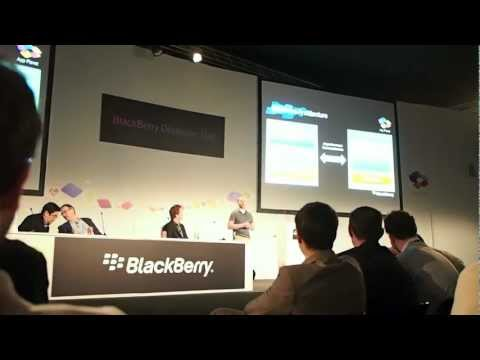 BlackBerry Cascades User Interface at Mobile World Congress 2012