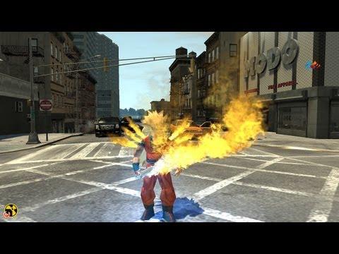 Grand Theft Auto IV - Goku (Dragon Ball Z) (MOD) HD